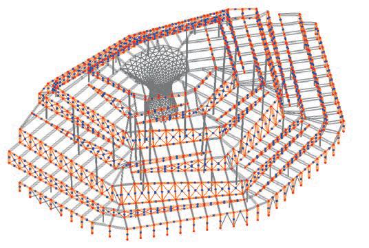 Irregular truss beams